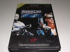 Robocop Versus The Terminator Sega Master System PAL Preloved *No Manual*