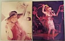 "2 Vintage 1970's BETTE MIDLER  8""x10"" Colored PHOTOGRAPHS Divine M"