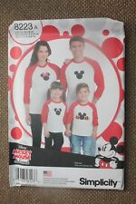 Simplicity Sewing Pattern Child & Adult Tops Size Child S-M-L Adult S-M-L