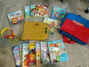 Story Reader System 6 Books With Cartridges Games 1 Carrying bag