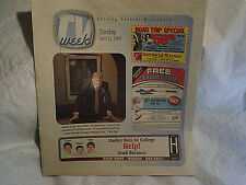2004 PRESIDENT DONALD TRUMP THE APPRENTICE TV WEEK weekly,april 11,united states