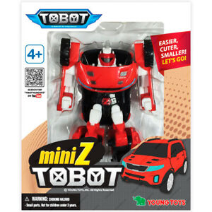TOBOT Young Toys 301030, Mini Z, Transformers, Original
