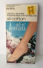 Vintage Footlets Original Packaging Leininger Knitting Co Landenberger PA Large