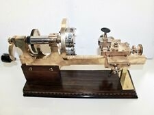 ANTIQUE 19TH C BRASS WATCH MAKERS LATHE