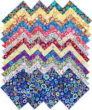 """Kaffe Fassett Collective Paperweight Precut 5"""" Fabric Quilting Squares SQ52"""