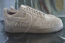 Nike Air Force 1 07 LV8 Suede Mens AA1117-201 Moon Particle Stone Shoes Sz 11.5