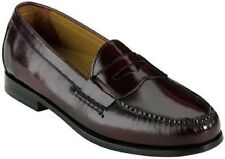 Cole Haan Mens Pinch Penny Moc Toe Slip On Casual Loafer Shoes Burgundy 8.5 NEW