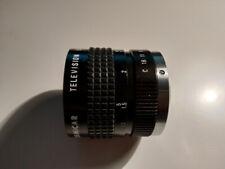 Cosmicar/Pentax c-mount 1,4/50mm