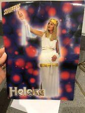 Helen of Troy Fancy Dress Costume, Grecian White & Gold, Tunic & Skirt Etc
