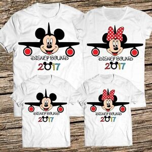 Personalised disney bound tshirts micky minnie childrens adults any date pairs