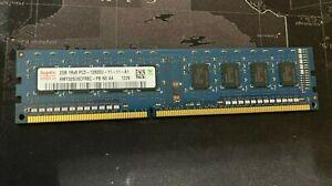Hynix 2GB PC3-12800U DDR3 1600MHz 240pin Desktop PC Memory HMT325U6CFR8C-PB
