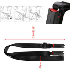 1xAuto Car Baby Child Safety Seat Strap Holder Secure Safe Link Belt with Anchor