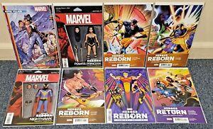 Heroes Reborn 1-7 + Heroes Return 1:50 Jeffrey Veregge Variant Cover 2021 Set