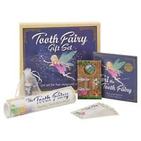 6 PCS Tooth Fairy Gift Set Health Tooth Brushing Magical Pixi Toy Story Book Bag