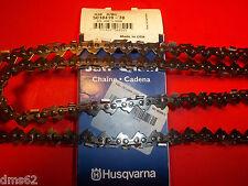 "NEW HUSQVARNA 20"" CHAIN FITS 346XP 350 445E 450E 325 058 78 LINK  501841978 OEM"