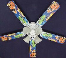 """New HOT WHEELS RACE CAR CARS Ceiling Fan 52"""""""