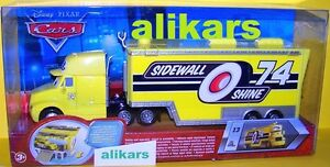 Hauler - SIDEWALL SHINE  - Truck #13 Disney Cars Racing Team 74 Transporter auto