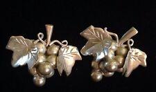 Silver Mexico Grape Earrings Sterling