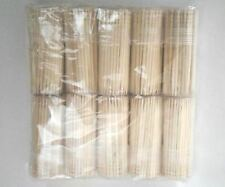 1200 Toothpicks Oral Wooden Tooth Pick Catering Party HIGH QUALITY USA SELLER