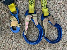 Dbi Sala Force2 Tie Back Shock Absorbing Lanyard With Aluminum Rebar Hooks