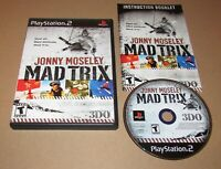 Jonny Moseley Mad Trix for Playstation 2 PS2 Complete Fast Shipping!
