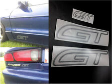 1993 94 95 96 97 FORD PROBE GT BADGE EMBLEM DECALS STICKERS KIT SET OEM