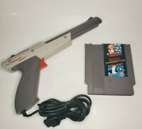 SUPER MARIO BROS AND DUCK HUNT NES NINTENDO ENTERTAINMENT SYSTEM WITH ZAPPER GUN