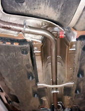 VW Polo 1.8 GTi Centre resonator mid silencer delete pipe deres pipe