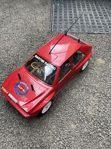 Tamiya RC Lancia Delta Integrale - TT02 - With Controller And Battery