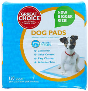 Grreat Choice Dog Pads - 150 Count - 1 Pack
