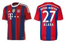 Trikot Adidas FC Bayern 2014-2015 Home WC - Alaba 27 [164 bis XXL] FCB Badge