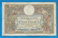 Gertbrolen  100 FRANCS ( LUC OLIVIER MERSON )  du 7-2-1935   R.47447