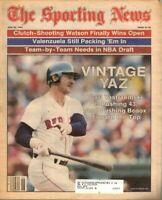 Sporting News Baseball newspaper, 6/28/82, Carl Yastrzemski, Boston Red Sox ~ VG