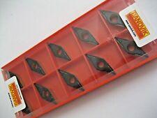 10 x VBMT160408-PM (VBMT 332-PM) 4325 SANDVIK SOLID CARBIDE TURNING INSERTS  172