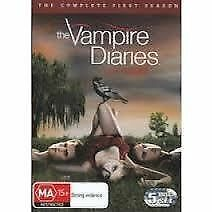 THE VAMPIRE DIARIES - FIRST SEASON 1 - NEW & SEALED REGION 4 DVD, 5-DISC SET