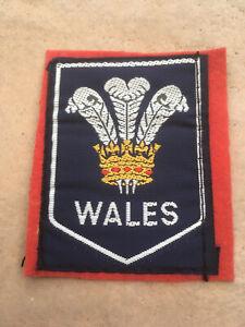 Souvenir cloth Patch, Badge. - WALES