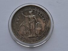 More details for 1909 trade dollar great britain silver coin coa