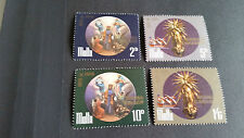 MALTA 1971 SG 452-455 CENT OF PROCLAMATION OF ST JOSEPH MNH