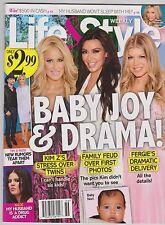 Weekly Life & Style Baby Nor Kim Kardashian & Kanye West Faith Hill Sept 9, 2013