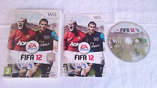 JUEGO COMPLETO FIFA SOCCER 12 2012 NINTENDO WII PAL UK INGLÉS