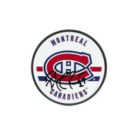 Patrick Roy Autographed Acrylic Puck Montreal Canadiens Upper Deck UDA