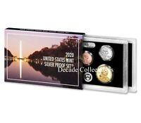 2020 S Silver Proof Set 10 Coin Deep Cameo W/ Box & COA PRESALE