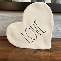Rae Dunn WHITE Love Ceramic Heart Valentine's Day New Release! Mother's Day gift