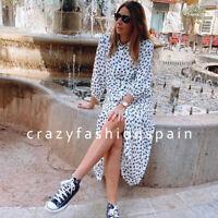 ZARA WOMAN NWT SS20 SALE! FLORAL PRINT SHIRT DRESS ALL SIZES REF: 4479/043