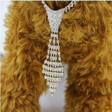 Rhinestone Dog Collars Diamonds Necktie Dog Necklace Dog Collar Cat Pets Product