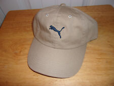 Puma Hat Cap Leather Buckle Back NWT MSRP $21.99 Free Shipping!