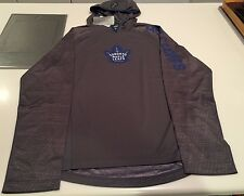 Toronto Maple Leafs TNT Center Ice Performance Pullover Hoodie NHL Hockey Large