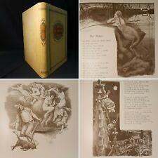 1897 FOLIO Goethe's Gedichte 178 LAVISH ILLUSTRATIONS Fable MYTHOLGY Scarce
