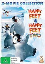Happy Feet / Happy Feet Two (DVD, 2014, 2-Disc Set)