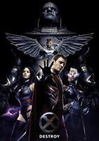 X-MEN; APOCALPYSE Movie PHOTO Print POSTER Textless Film Art Dark Phoenix 004